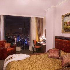 Visotsky Hotel and Apartment Екатеринбург комната для гостей фото 4
