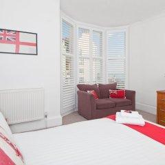 Отель Hamptons Brighton Великобритания, Кемптаун - отзывы, цены и фото номеров - забронировать отель Hamptons Brighton онлайн комната для гостей фото 3