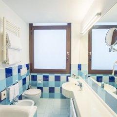 Отель Mercure Roma Piazza Bologna Италия, Рим - 1 отзыв об отеле, цены и фото номеров - забронировать отель Mercure Roma Piazza Bologna онлайн ванная