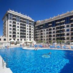 Отель Apartamentos Nuriasol Испания, Фуэнхирола - 7 отзывов об отеле, цены и фото номеров - забронировать отель Apartamentos Nuriasol онлайн бассейн