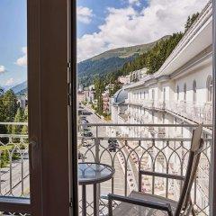 Отель Steigenberger Grandhotel Belvedere Швейцария, Давос - 1 отзыв об отеле, цены и фото номеров - забронировать отель Steigenberger Grandhotel Belvedere онлайн балкон