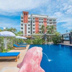 Santiphap Hotel & Villa бассейн фото 3