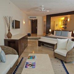 Отель Grand Park Royal Luxury Resort Cancun Caribe Мексика, Канкун - 3 отзыва об отеле, цены и фото номеров - забронировать отель Grand Park Royal Luxury Resort Cancun Caribe онлайн комната для гостей фото 6