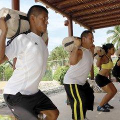Отель Azul Ixtapa Resort - Все включено фитнесс-зал фото 3