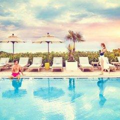Отель Marriott Stanton South Beach фитнесс-зал фото 2