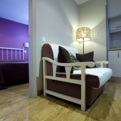 Отель Apartamentos Palacio Real Испания, Мадрид - отзывы, цены и фото номеров - забронировать отель Apartamentos Palacio Real онлайн комната для гостей фото 3