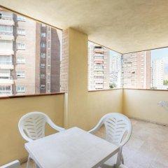 Отель Apartamentos Benimar Испания, Бенидорм - отзывы, цены и фото номеров - забронировать отель Apartamentos Benimar онлайн балкон