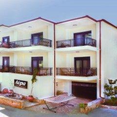Апартаменты Avra Apartments Ситония вид на фасад