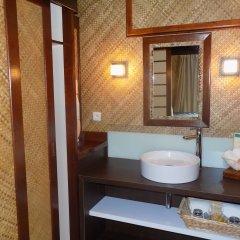 Отель Maitai Polynesia Французская Полинезия, Бора-Бора - отзывы, цены и фото номеров - забронировать отель Maitai Polynesia онлайн ванная фото 2