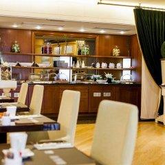 Отель Le Châtelain питание