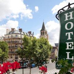 Отель Hôtel Au Manoir St-Germain des Prés балкон