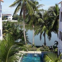 Отель Riverside Garden Villas балкон