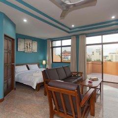 Pattaya Garden Apartments Boutique Hotel комната для гостей