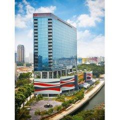 Hotel Boss Сингапур балкон