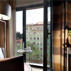 Отель Eurostars Das Letras Португалия, Лиссабон - 2 отзыва об отеле, цены и фото номеров - забронировать отель Eurostars Das Letras онлайн балкон