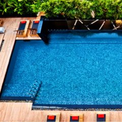 Отель Fraser Suites Sukhumvit, Bangkok Таиланд, Бангкок - отзывы, цены и фото номеров - забронировать отель Fraser Suites Sukhumvit, Bangkok онлайн бассейн фото 2