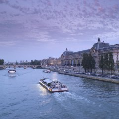 Отель Novotel Montparnasse Париж приотельная территория