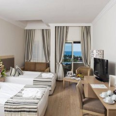 Crystal Tat Beach Golf Resort & Spa Турция, Белек - 1 отзыв об отеле, цены и фото номеров - забронировать отель Crystal Tat Beach Golf Resort & Spa онлайн комната для гостей фото 5