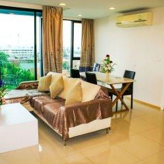 Отель Acqua Паттайя комната для гостей