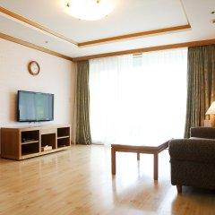 Отель Welli Hilli Park Южная Корея, Пхёнчан - отзывы, цены и фото номеров - забронировать отель Welli Hilli Park онлайн комната для гостей фото 3