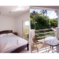 Отель Namhasin House Таиланд, Остров Тау - отзывы, цены и фото номеров - забронировать отель Namhasin House онлайн балкон