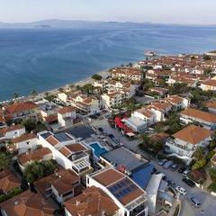 Отель Agnes Deluxe Греция, Пефкохори - отзывы, цены и фото номеров - забронировать отель Agnes Deluxe онлайн пляж