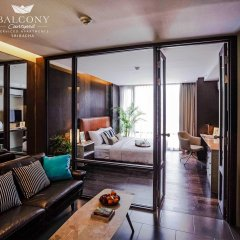 Balcony Courtyard Si Racha Hotel & Serviced Apartments комната для гостей фото 2