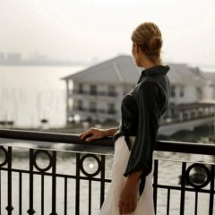 Отель InterContinental Hanoi Westlake балкон