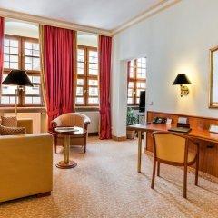 Отель Bülow Residenz Германия, Дрезден - отзывы, цены и фото номеров - забронировать отель Bülow Residenz онлайн интерьер отеля фото 3