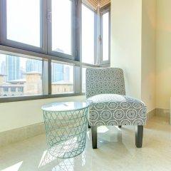 Отель DHH - Al Tajer Дубай балкон