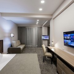 Альфа Отель 4* Стандартный номер с разными типами кроватей фото 4