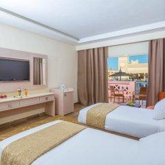Отель Aqua Vista Resort & Spa Египет, Хургада - 1 отзыв об отеле, цены и фото номеров - забронировать отель Aqua Vista Resort & Spa онлайн комната для гостей фото 2