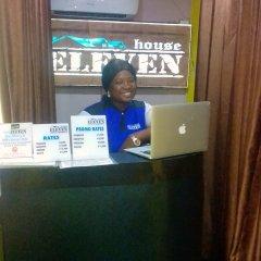 Отель House Eleven Hotels and Apartments Нигерия, Ибадан - отзывы, цены и фото номеров - забронировать отель House Eleven Hotels and Apartments онлайн интерьер отеля фото 3