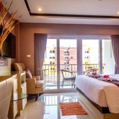 Отель New Nordic Marcus Таиланд, Паттайя - 12 отзывов об отеле, цены и фото номеров - забронировать отель New Nordic Marcus онлайн комната для гостей фото 2