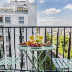 Отель EUROPEA Eiffel Tower View Residence балкон