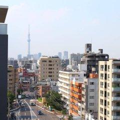 Отель APA Hotel Tokyo Kiba Япония, Токио - отзывы, цены и фото номеров - забронировать отель APA Hotel Tokyo Kiba онлайн балкон