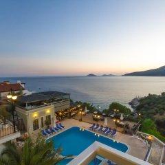 Kulube Hotel Турция, Калкан - 1 отзыв об отеле, цены и фото номеров - забронировать отель Kulube Hotel онлайн балкон