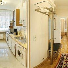 Отель Central Apartments Vienna (CAV) Австрия, Вена - отзывы, цены и фото номеров - забронировать отель Central Apartments Vienna (CAV) онлайн ванная