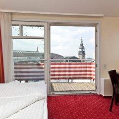 Отель Novum Hotel City Apart Hamburg Германия, Гамбург - отзывы, цены и фото номеров - забронировать отель Novum Hotel City Apart Hamburg онлайн балкон