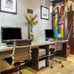 Отель Comfort Suites Columbus West - Hilliard США, Колумбус - отзывы, цены и фото номеров - забронировать отель Comfort Suites Columbus West - Hilliard онлайн интерьер отеля фото 3