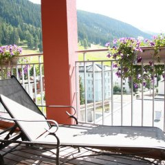 Отель Ochsen Швейцария, Давос - отзывы, цены и фото номеров - забронировать отель Ochsen онлайн балкон