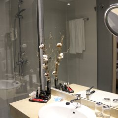 Отель Puerta De Toledo Испания, Мадрид - 9 отзывов об отеле, цены и фото номеров - забронировать отель Puerta De Toledo онлайн ванная