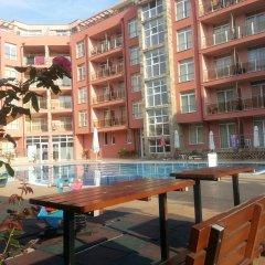 Отель Menada Rainbow Apartments Болгария, Солнечный берег - отзывы, цены и фото номеров - забронировать отель Menada Rainbow Apartments онлайн балкон
