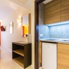 Отель Aparthotel Recoletos Мадрид в номере