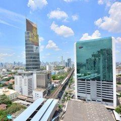 Апартаменты Piyavan Tower Serviced Apartment балкон