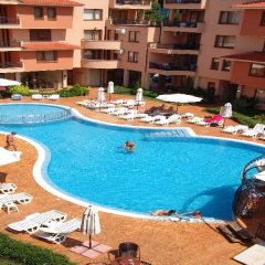 Отель Efir Holiday Village Болгария, Солнечный берег - отзывы, цены и фото номеров - забронировать отель Efir Holiday Village онлайн бассейн фото 3