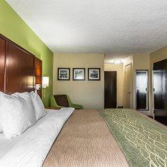 Отель Comfort Inn At Carowinds Южный Бельмонт сейф в номере