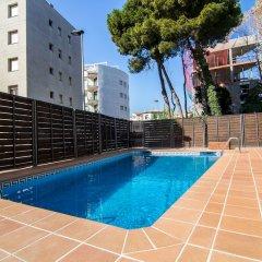 Отель Agi Torre Quimeta Испания, Курорт Росес - отзывы, цены и фото номеров - забронировать отель Agi Torre Quimeta онлайн бассейн фото 3