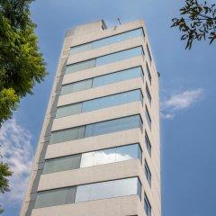 Отель Suites Coben Apartamentos Amueblados Мехико вид на фасад