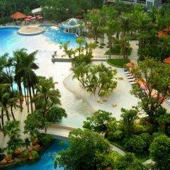 Отель InterContinental Shenzhen Китай, Шэньчжэнь - отзывы, цены и фото номеров - забронировать отель InterContinental Shenzhen онлайн бассейн фото 3